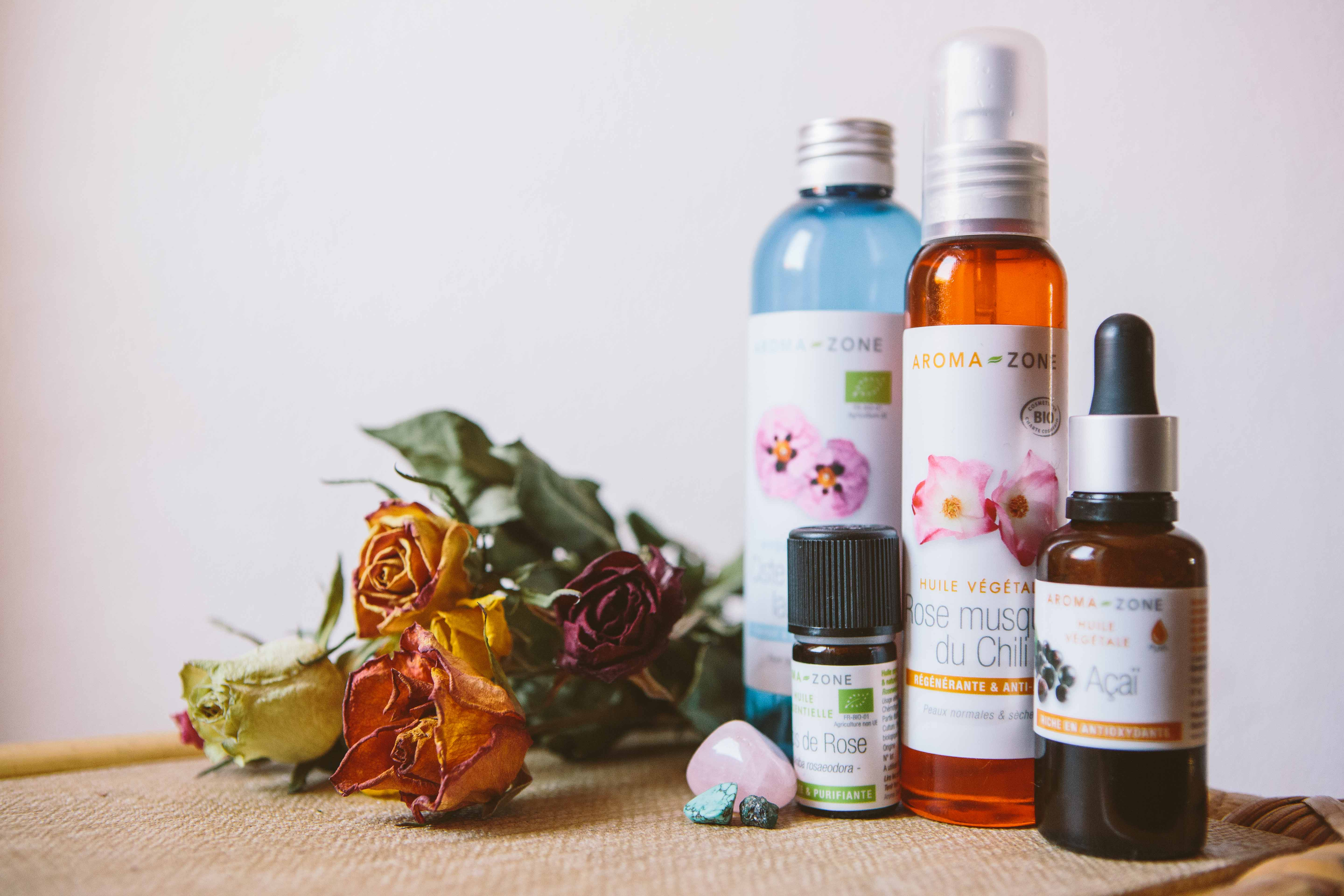 Naturel beauty product from Aroma-zone
